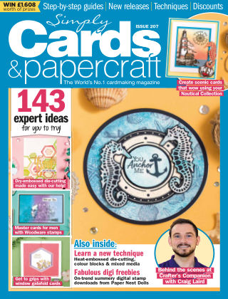Simply Cards and Papercraft ISSUE207