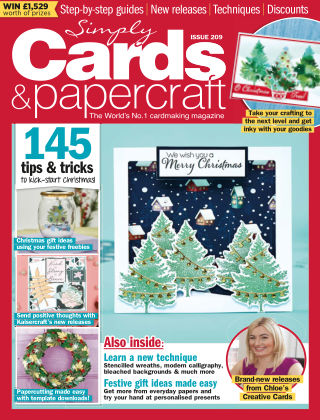 Simply Cards and Papercraft ISSUE209