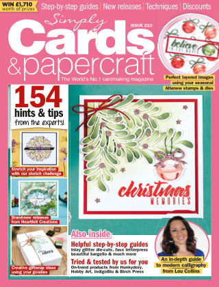 Simply Cards and Papercraft ISSUE210