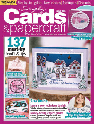 Simply Cards and Papercraft ISSUE211