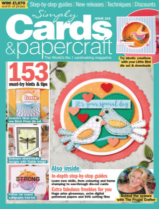 Simply Cards and Papercraft ISSUE216