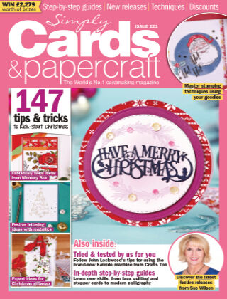 Simply Cards and Papercraft ISSUE221