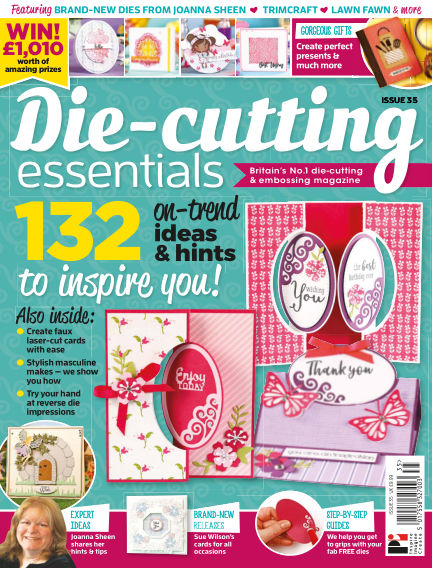 Die Cutting Essentials March 15, 2018 00:00