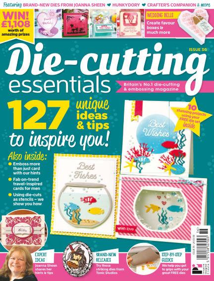 Die Cutting Essentials April 12, 2018 00:00