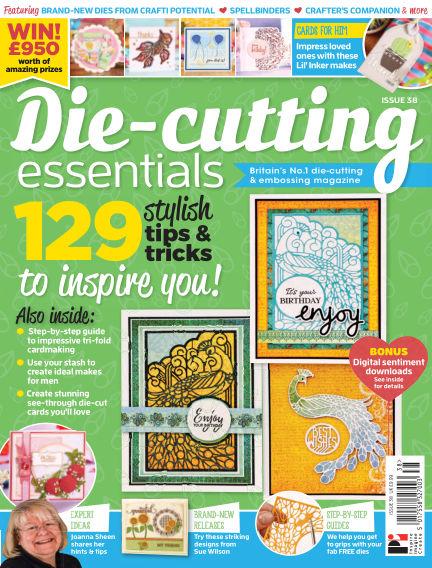 Die Cutting Essentials May 24, 2018 00:00