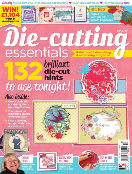 Die Cutting Essentials July 19, 2018 00:00