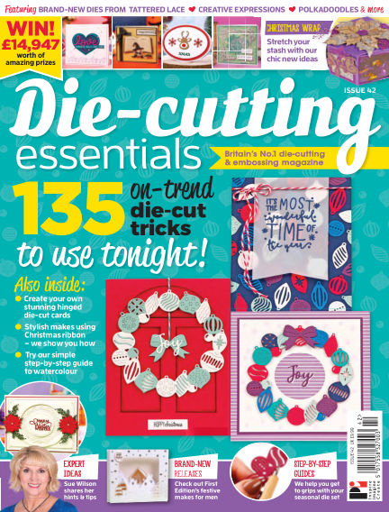 Die Cutting Essentials September 13, 2018 00:00