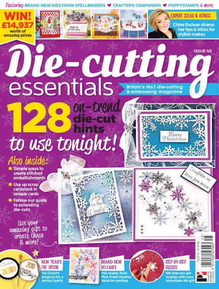 Die Cutting Essentials November 22, 2018 00:00