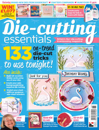 Die Cutting Essentials ISSUE46