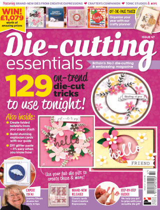 Die Cutting Essentials ISSUE47
