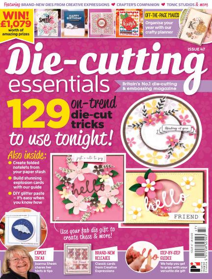 Die Cutting Essentials January 17, 2019 00:00