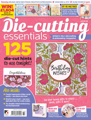 Die Cutting Essentials ISSUE50