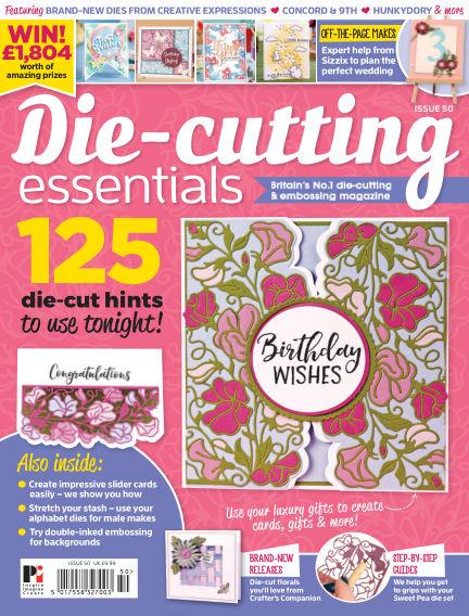 Die Cutting Essentials April 03, 2019 00:00