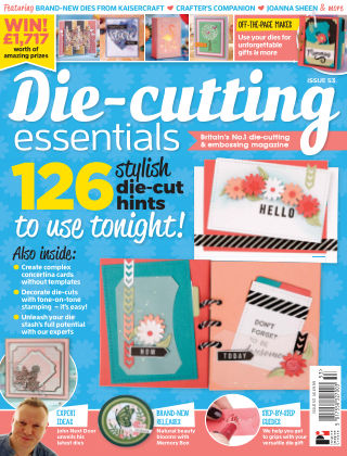 Die Cutting Essentials ISSUE53
