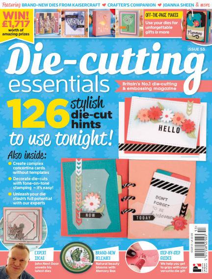 Die Cutting Essentials June 20, 2019 00:00