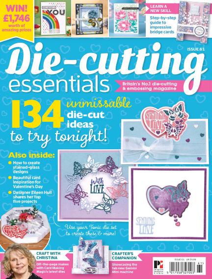 Die Cutting Essentials January 16, 2020 00:00