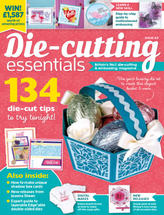 Die Cutting Essentials ISSUE63