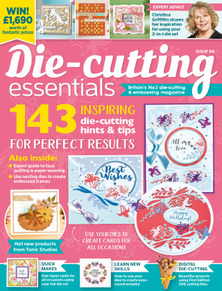 Die Cutting Essentials ISSUE68