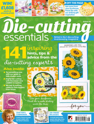 Die Cutting Essentials ISSUE66