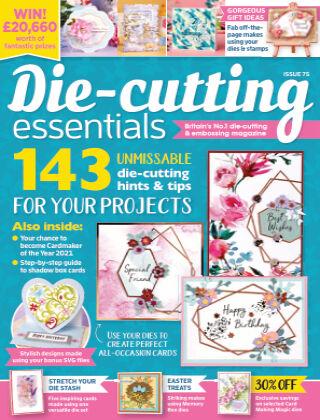 Die Cutting Essentials ISSUE75