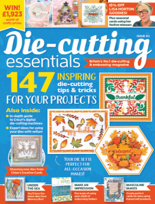 Die Cutting Essentials ISSUE81