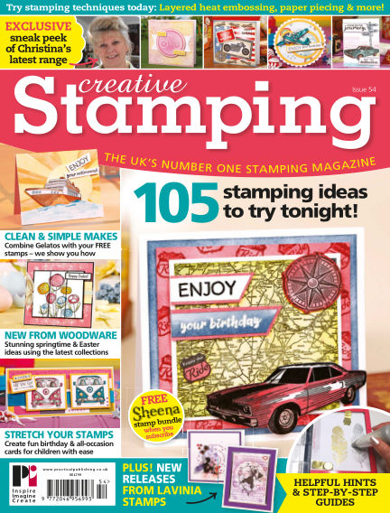 Creative Stamping March 01, 2018 00:00