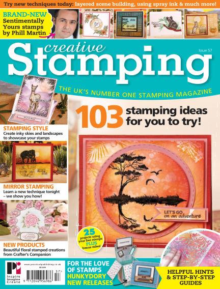 Creative Stamping May 11, 2018 00:00