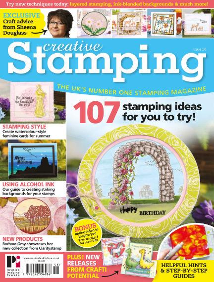 Creative Stamping June 07, 2018 00:00