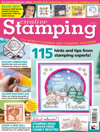 Creative Stamping ISSUE75