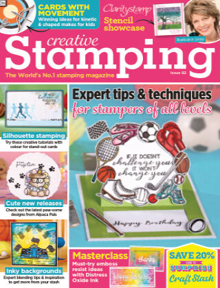 Creative Stamping ISSUE92