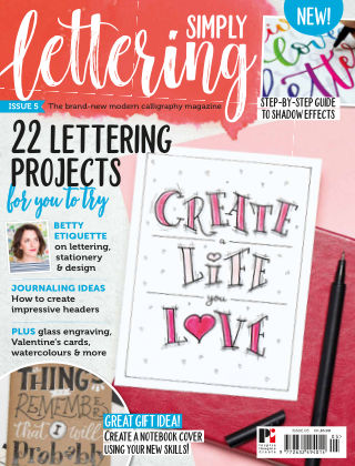 Simply Lettering ISSUE05