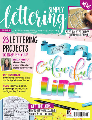 Simply Lettering ISSUE08