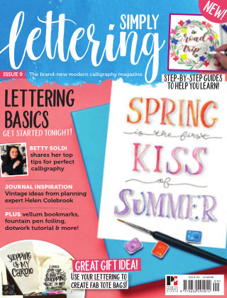 Simply Lettering ISSUE09