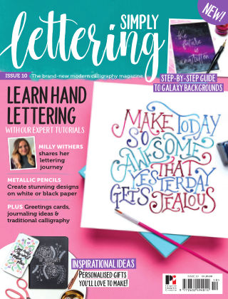 Simply Lettering ISSUE10