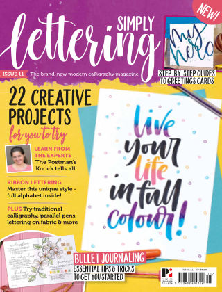 Simply Lettering ISSUE11