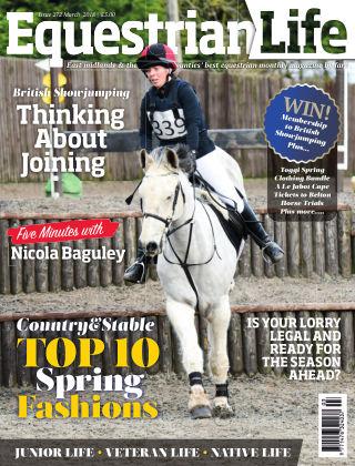 Equestrian Life March 2018