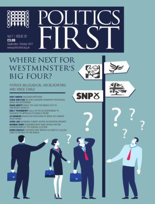 Politics First Sept - Oct 2017