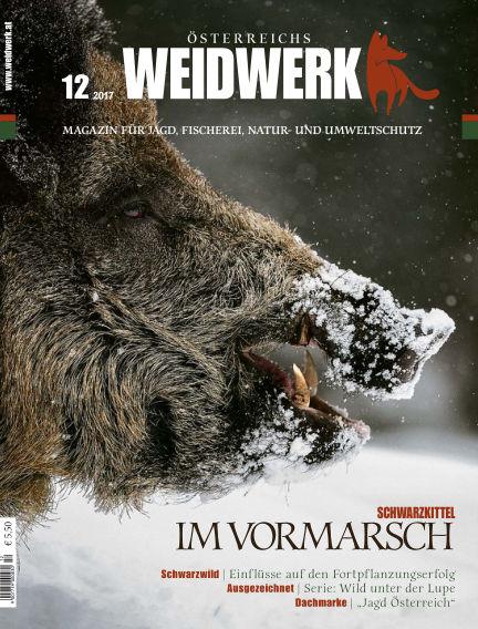 WEIDWERK December 01, 2017 00:00