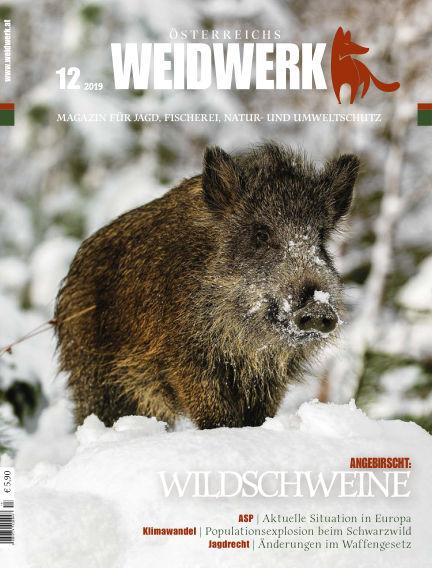 WEIDWERK December 01, 2019 00:00