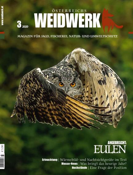 WEIDWERK March 01, 2020 00:00