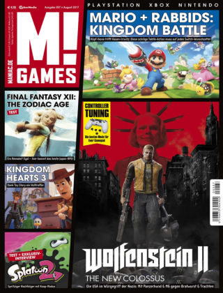M! GAMES 287 (August 2017)