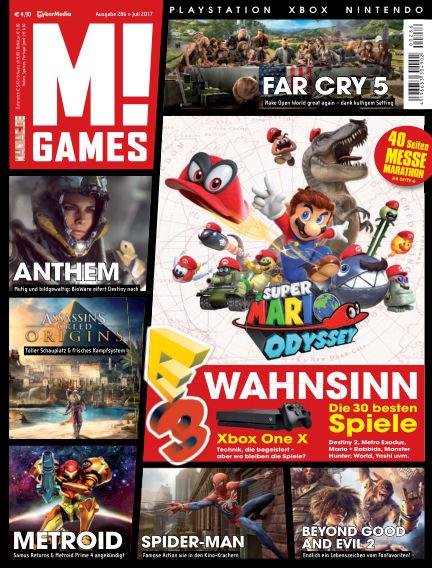 M! GAMES June 30, 2017 00:00