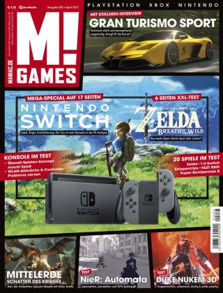 M! GAMES 283 (April 2017)