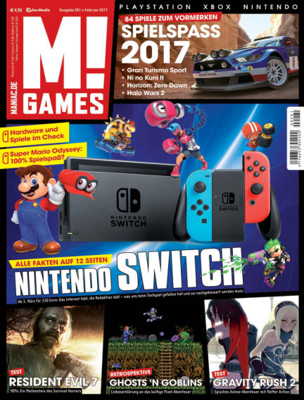 M! GAMES January 27, 2017 00:00