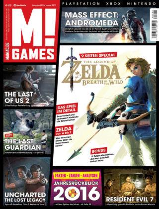 M! GAMES 280 (Januar 2017)