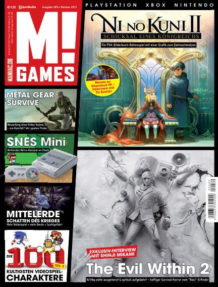 M! GAMES September 22, 2017 00:00