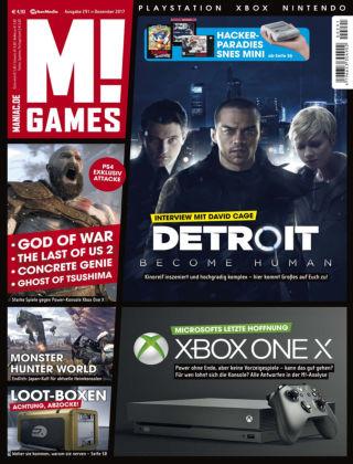 M! GAMES 291 (Dezember 2017)