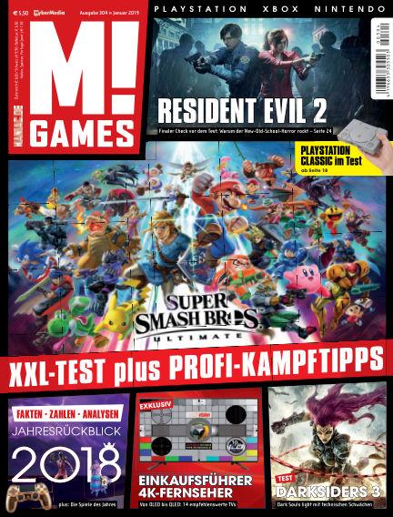 M! GAMES December 14, 2018 00:00