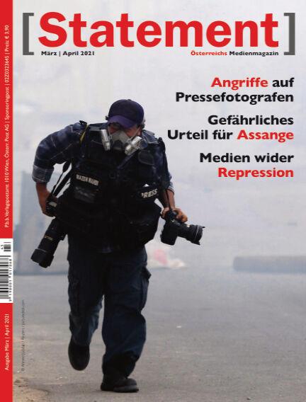 [Statement] - Österreichs Medienmagazin March 01, 2021 00:00