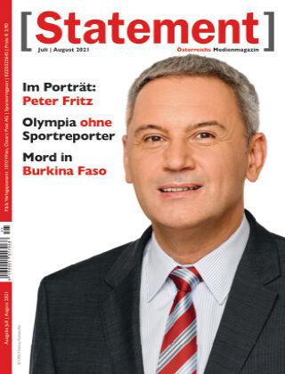 [Statement] - Österreichs Medienmagazin Juli/August 2021